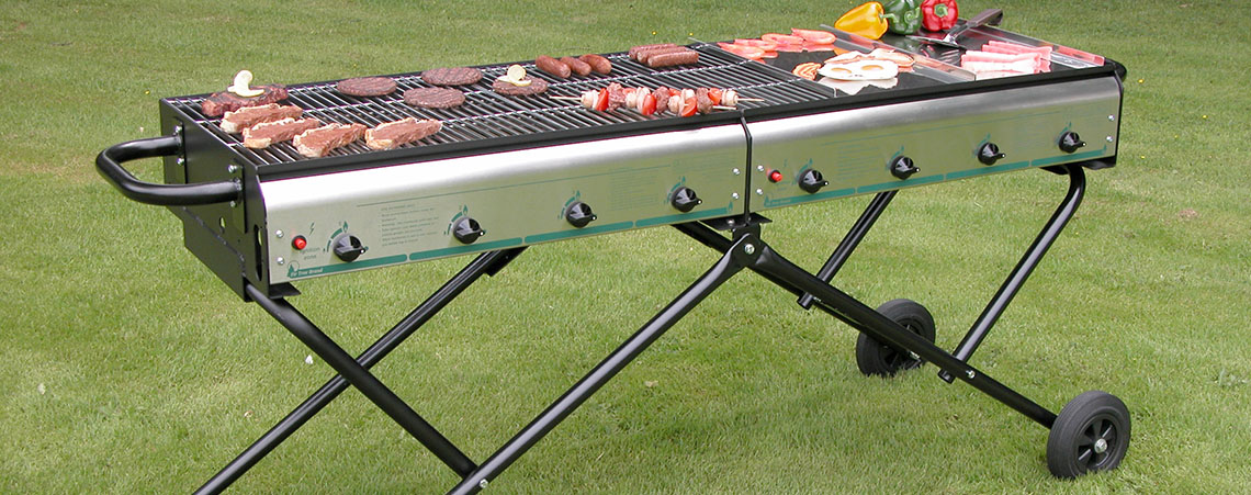 Magnum 8 large catering barbecue