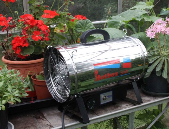 Elite Plus Electric Fan Greenhouse Heaters