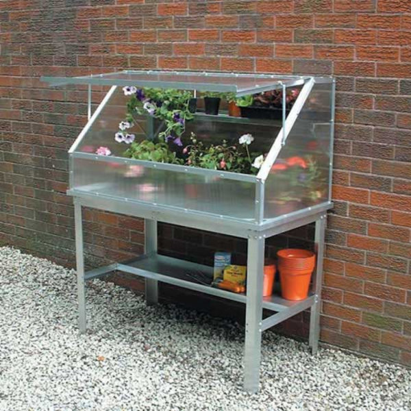 Bench For Easy Access Cold Frame