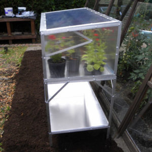Modular Cold Frame Bench
