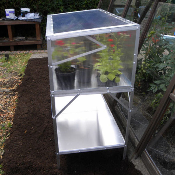 Modular Cold Frame Bench