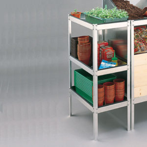 Potting Bench Side Table