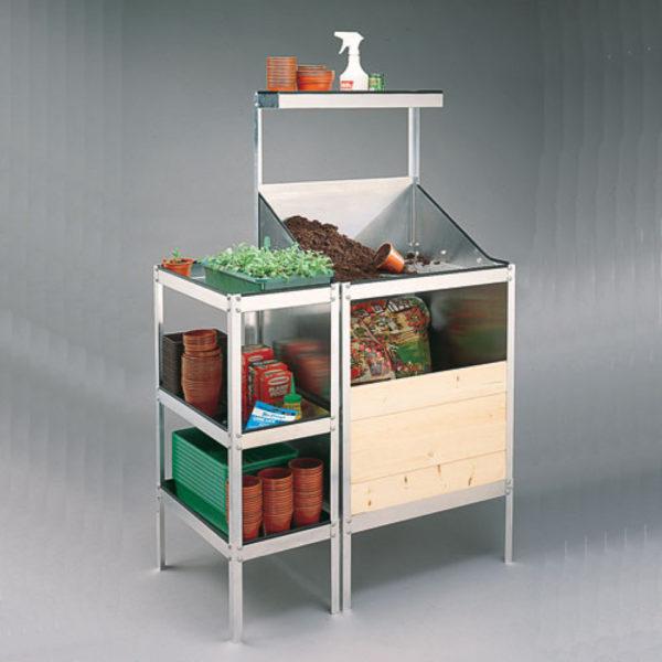 Potting Bench, Side Table & Shelf