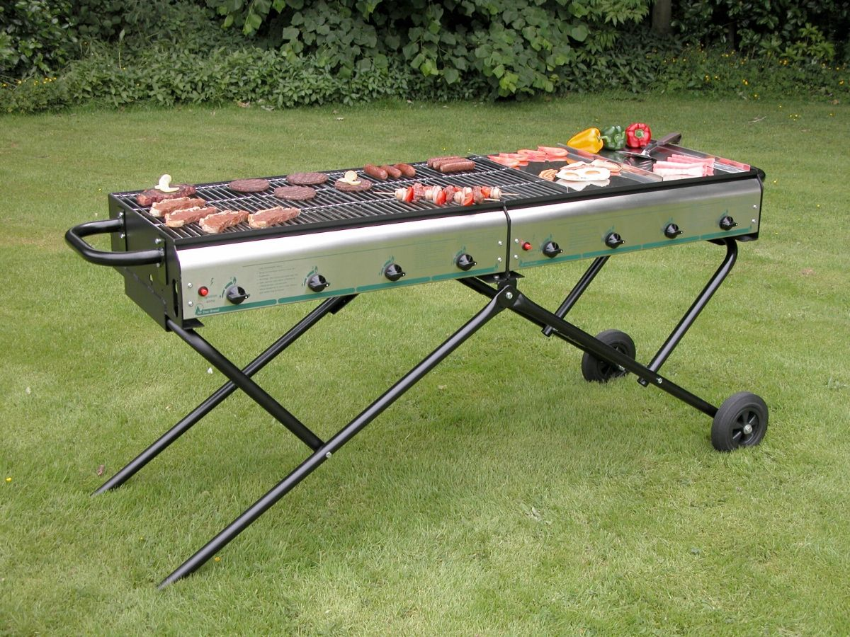 Magnum 8 Catering Barbecue with Flame Failure Device